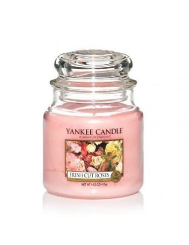 Yankee Candela profumata Fresh Cut Roses