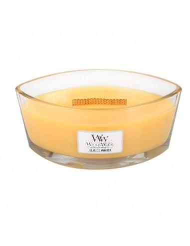 Duftkerze Seaside Mimosa WoodWick Ellipse Glass, 454g