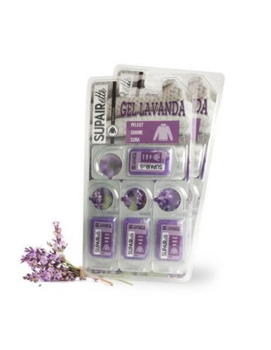 Gel set of lavender