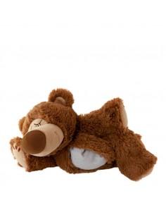 Warmies heat fabric Sleepy Bear brown