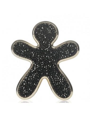 NIKI CRYSTAL Noir avec finitions d''orées