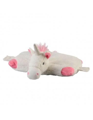 Coussin chauffant en forme de Licorne
