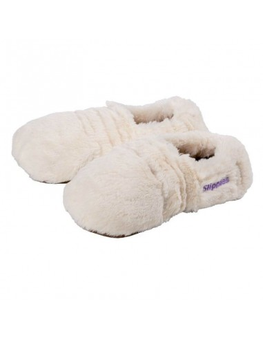 Slippies® Deluxe creme Plush (M)