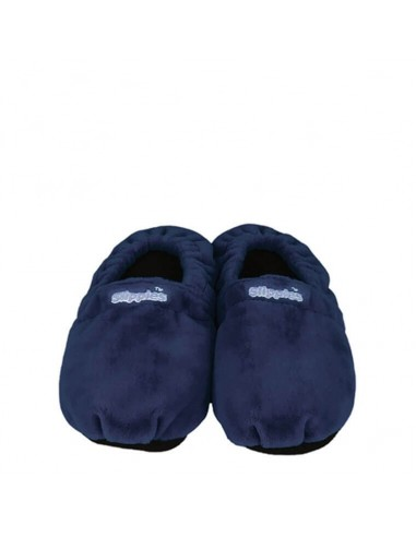Slippies® pantofole riscaldabili classiche blu