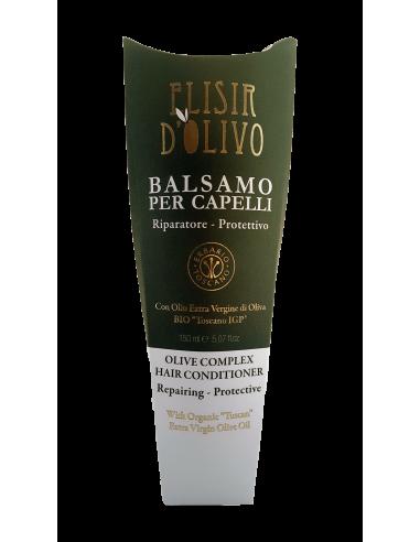 Baume après-shampiong naturel Elisir D'olivo 150ml