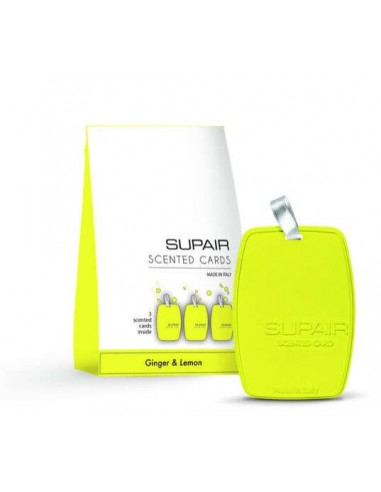 Supair Fresh Card Ginger & Lemon