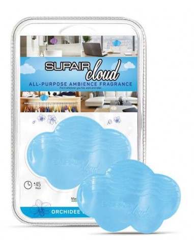 Supair Cloud blau wilde Orchidee