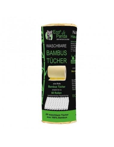 Bambus Küchenrolle XXL Waschbar