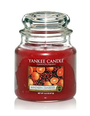 Yankee Candle Duftkerze Mandarin Cranberry